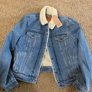 Levi's Denim Jacket with Fur